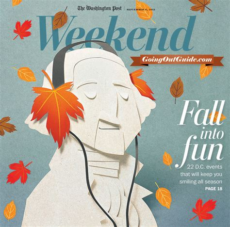 Washington Post Weekend Section by Fall Into Tippi Thole