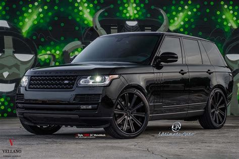 all black range rover all black bespoke range rover gets mysterious looks