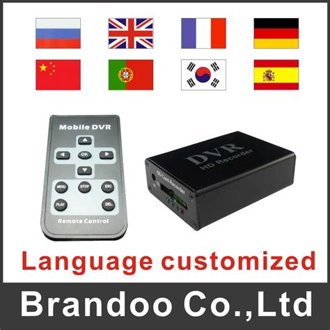1 channel mini dvr with motion detection for home security