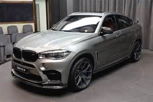Bmw X6 M Bmw X6 M Delivered In Abu Dhabi Decked With Aftermarket Goodies