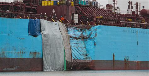 ship channel  reopen thursday  accident spill