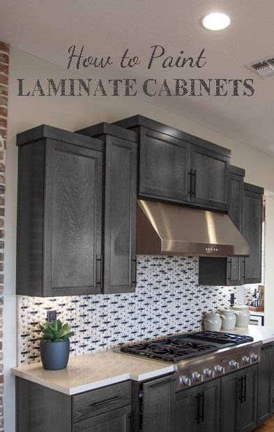 How To Paint Laminate Cabinets by Painting Laminate Cabinets Painted Furniture Ideas