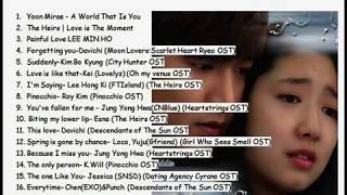 Mr Baper 18 lagu drama korea bikin baper abiss