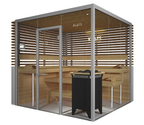 glas sauna glass sauna room vitrium by klafs