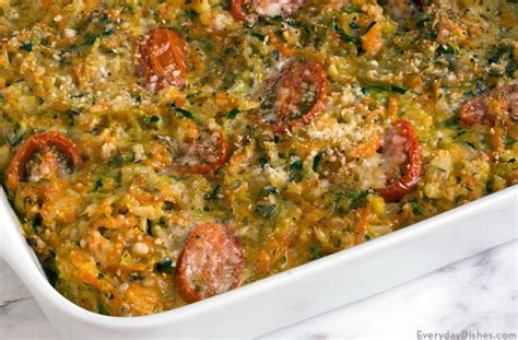 Garden Vegetable And Brown Rice Casserole Recipe Garden Vegetable Rice