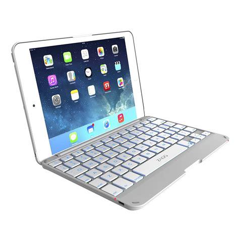 Keyboard Mini Bluetooth White Berkualitas zagg folio for mini mini retina hinged