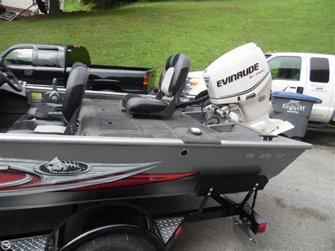 used aluminum boats for sale in tx 2014 used polar kraft tx 175 ff aluminum fishing boat for