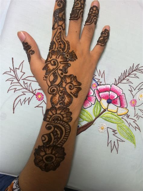 mehndi tattoo designs for girls new mehndi designs for fashion point
