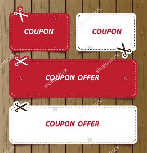 Coupon Design Template Free sle coupon template 40 documents in psd vector illustration pdf