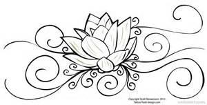 Drawings Of Lotus Flower Flower Drawing Lotus 25