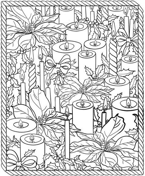 coloring pages of christmas candles color it christmas candles xmas colouring coloring home