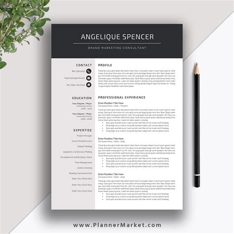 cv template word soydt co