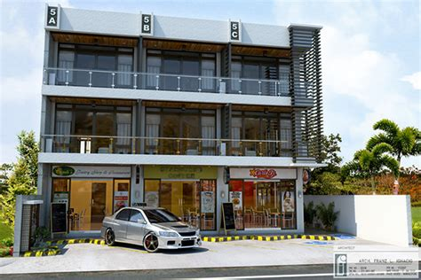 Residential Commercial Building On Behance Commercial