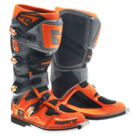 Sepatu Cross Gaerne Sg12 bottes cross gaerne sg12 orange 2017 enduro motoblouz
