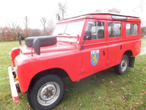 landrover pre defender 109 series iii 2 8l 6 cylinder