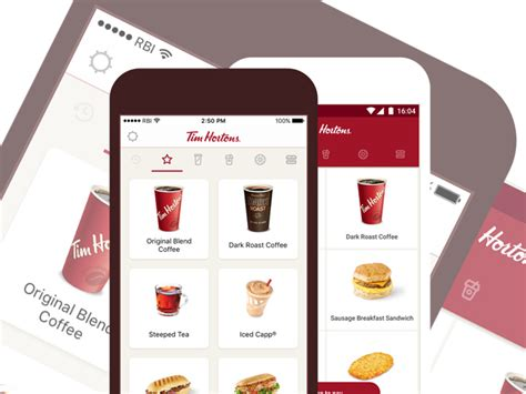 3 mobile app free coffee with any three mobile app purchases at tim