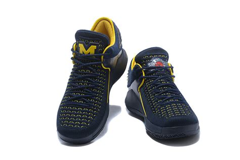 of michigan basketball shoes new style air xxxii low aj 32 of