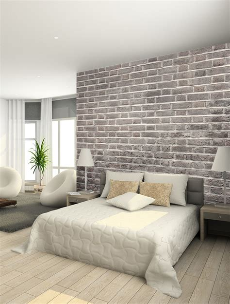 brick wallpaper bedroom new collection texture effect wallpaper murals