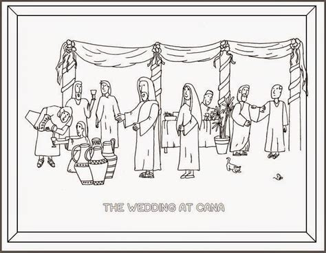 Wedding Feast At Cana Epiphany by Drawn2bcreative Celebrating The Epiphany