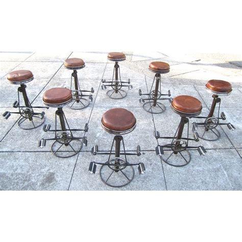 Set Of 8 Bar Stools by Ingenious Set Of Bicycle Bar Stools Set Of 8 Cool Stuff