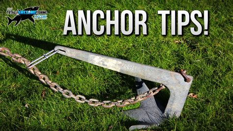 how to make a boat anchor 3 ways to trip your boat anchor tafishing youtube