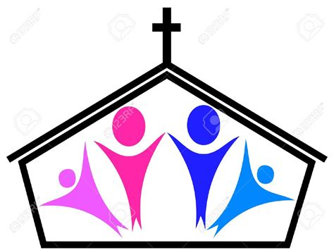 church clipart religious clipart church family pencil and in color