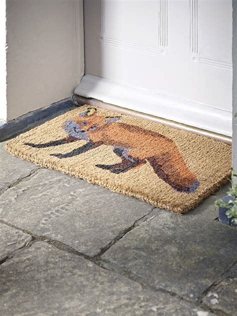 Fox Door Mat by Does Your Home Make A Impression The Home