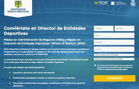 Que Es Un Mba En Espanol by El Mba En Direcci 243 N De Entidades Deportivas Alfredo Di