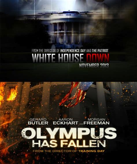 olympus has fallen vs white house down white house down gets a trailer but it looks pretty familiar the second take