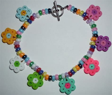 perler bead bracelet 17 best images about perler bead jewelry on