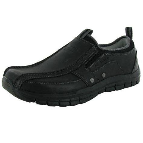 Sepatu Skechers Relaxed Fit skechers relaxed fit mens 63479 maxen leather slip on shoe black us 12 skechers http www