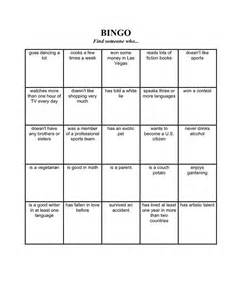 Find Someone Who Template by Nicoleclemtesolportfolio Bingo Find Someone Who
