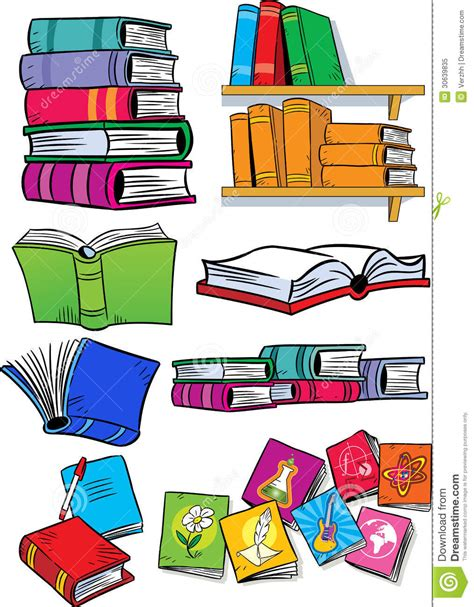 different types of picture books several different books royalty free stock photo image