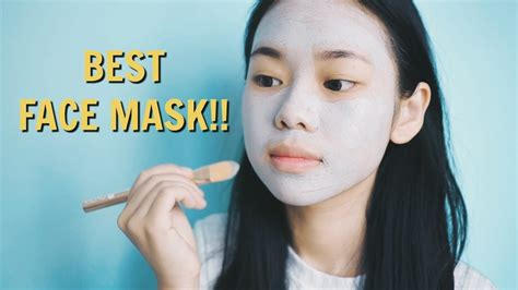 face mask weekly face mask routine eng  youtube