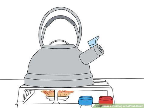 Unclog Tub With Baking Soda How To Unclog A Bathtub Drain