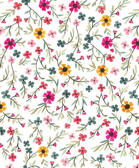 floral prints papier fabrik july 2011