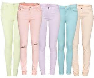 colored capris fashion is my trending pastel