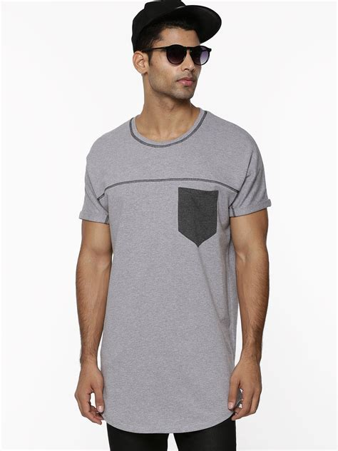 Tshirt Oversize buy koovs oversized for s grey t shirts in india