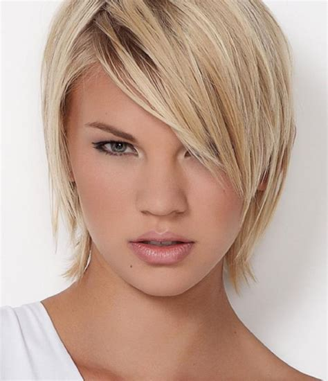 women with narrow faces attractive short party hairstyles for narrow faces 2017