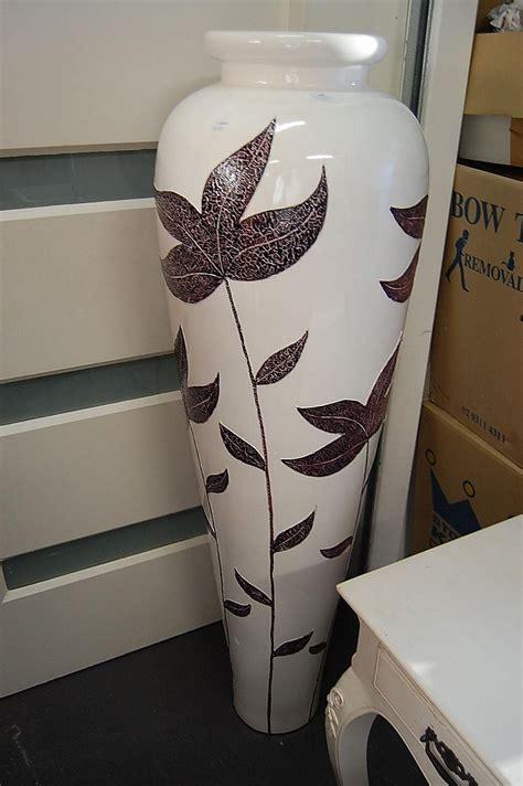 Large Modern Floor Vases by Large Modern Floor Vase Antiques Decorative Arts