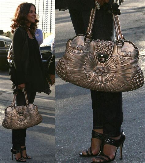 Name Halle Berrys Designer Purse by And Their Fabulous Ferragamo Page 4 Purseforum