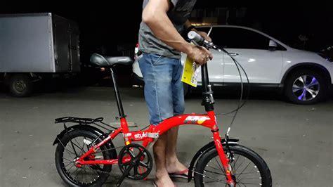 Sepeda Lipat 16 sepeda lipat united stylo 16 inch terbaru