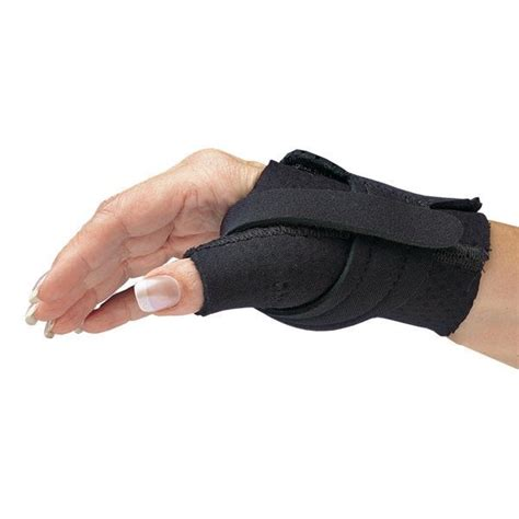 comfort cool brace comfort cool thumb cmc restriction splint opc health