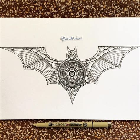 batman mandala tattoo 28 best images about visothkakvei on pinterest dibujo