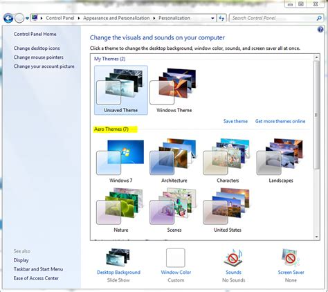 changing themes for windows 7 change wallpaper windows 7