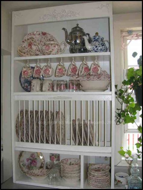 Plate Rack Cupboard - how to build your own plate rack cabinet dengarden