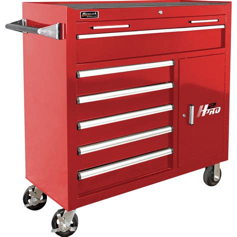 Homak H2pro Side Cabinet by Homak H2pro Series 41in 6 Drawer Roller Tool Cabinet With
