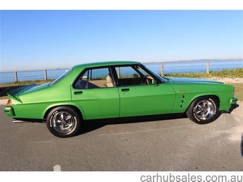 monaro holden 4 door gts 1978 hz 308 5 speed nut and