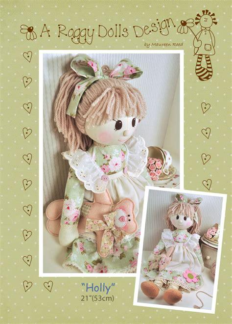 design rag doll holly rag doll pattern from raggydollssupplies on etsy studio