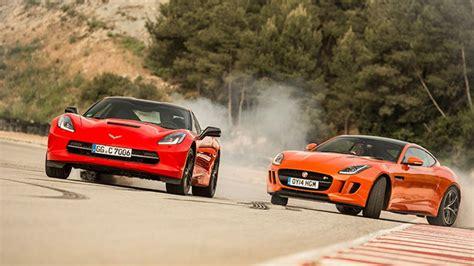 corvette f jaguar f type r vs corvette c7